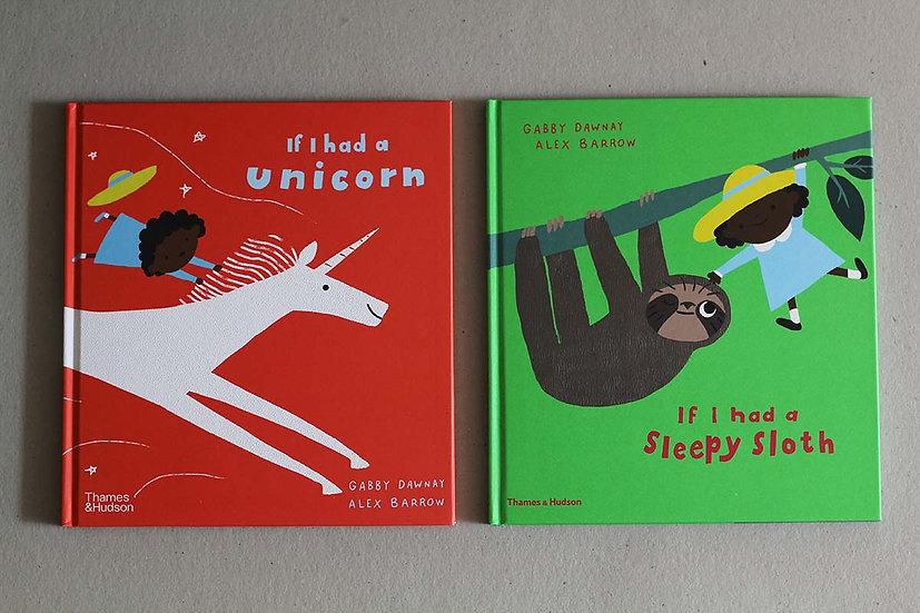 If I had a Unicorn / Sleepy Sloth
