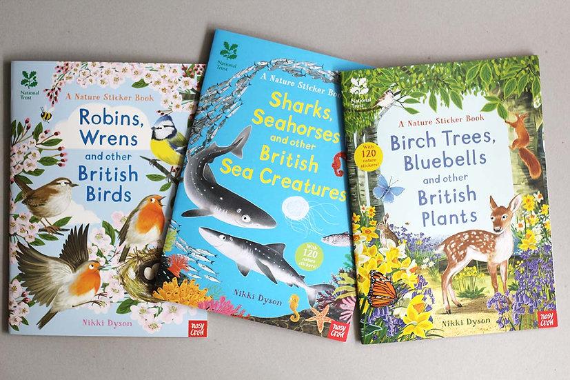 A Nature Sticker Book - British Birds