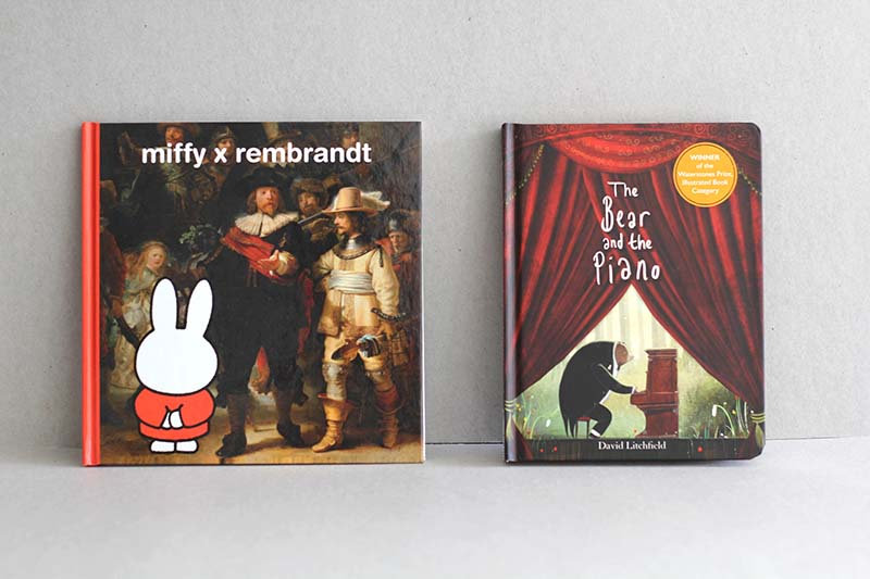 Miffy x Rembrandt / The Bear and the Piano