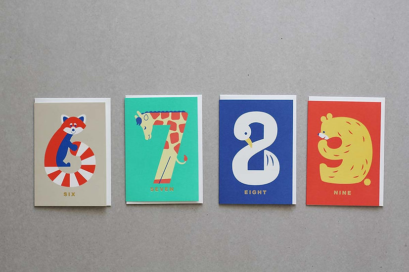 Age Cards 6,7,8,9