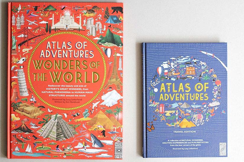 Atlas Wonders of the World / Atlas of Adventure
