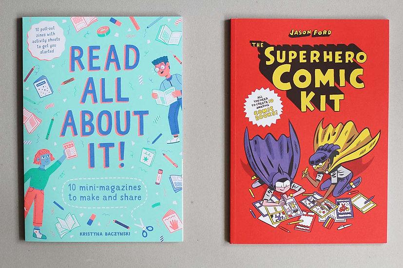 Read All About It!/ Superhero Comic Kit