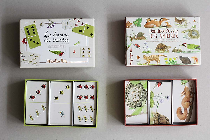 Insect Dominos / Animals Domino Puzzle