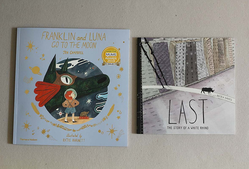 Franklin & Luna Go to the Moon / LAST the Story of White Rhino