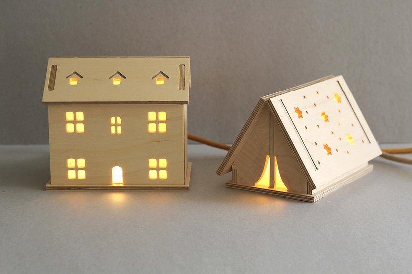 Welsh Cottage / Star Tent Light
