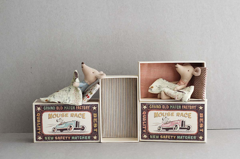 Little Brother & Sister Matchbox Mouse