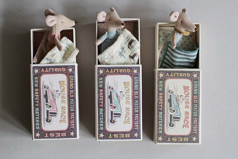 Matchbox Mouse Brothers & Sister