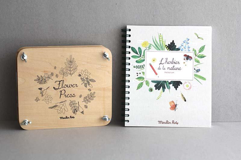 Flower Press / Herbarium Book
