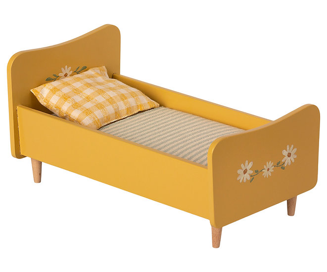 Yellow Wooden Bed (Pre-Order)