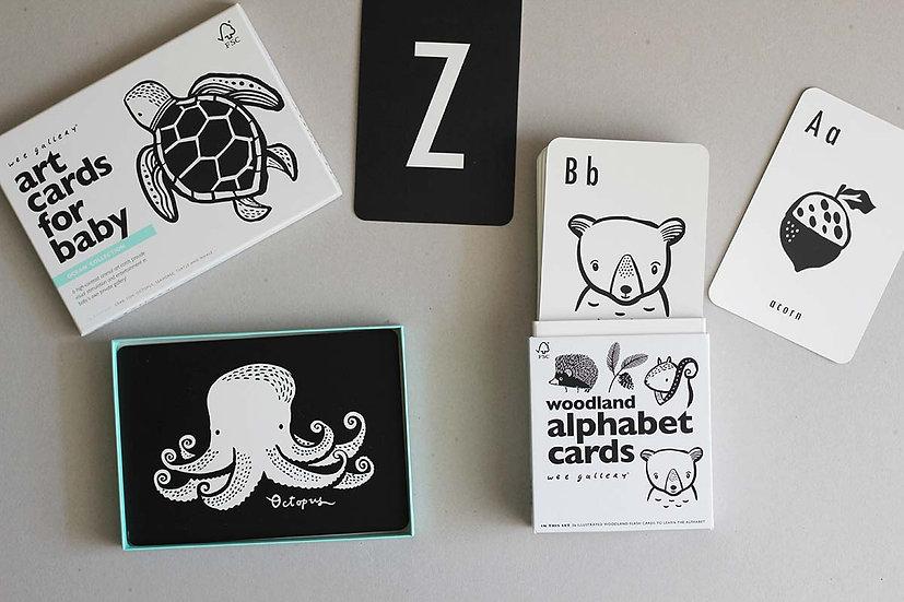 Ocean - Art Cards for baby / Animal Alphabet Cards