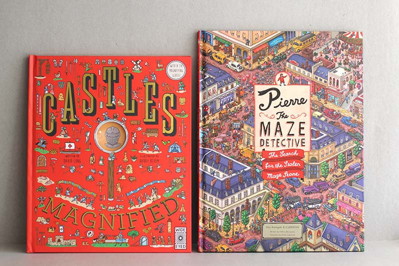 Castles Magnified / Pierre the Maze Detective search for the Stolen Maze Stone