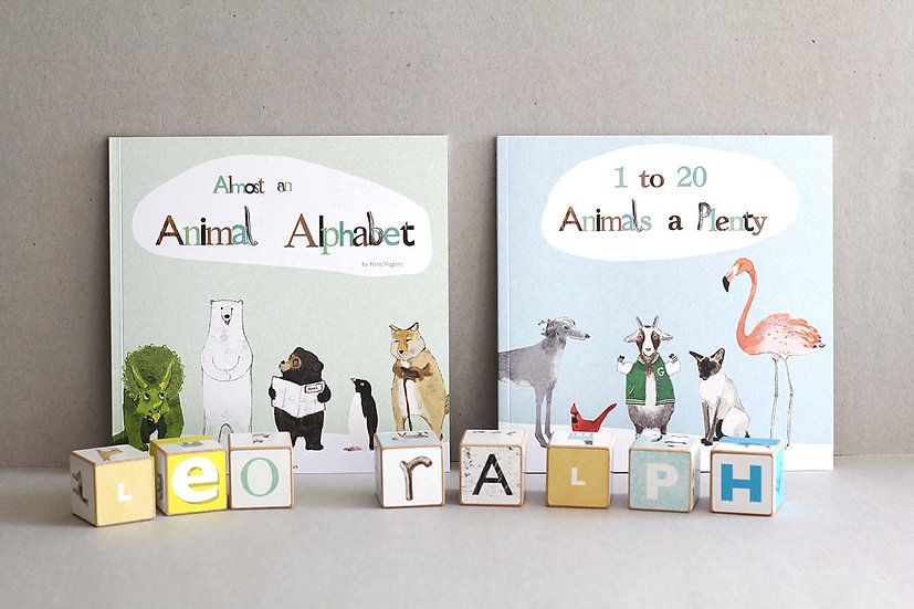 Almost an Animal Alphabet / 1-20 Animals a Plenty Counting and Rhyming
