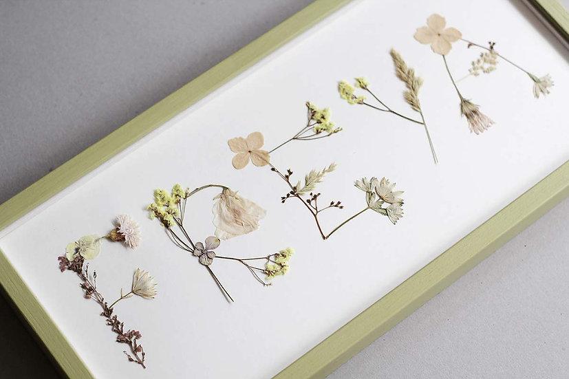 Personalise custom names 'Freya' by  Maison Floralia