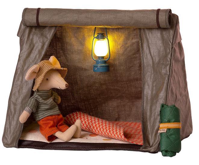 Vintage Red Lantern & Camper Tent (Pre-Order)