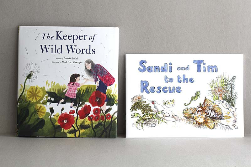 The Keeper of Wild Words / Sandi and Tim to the Rescue