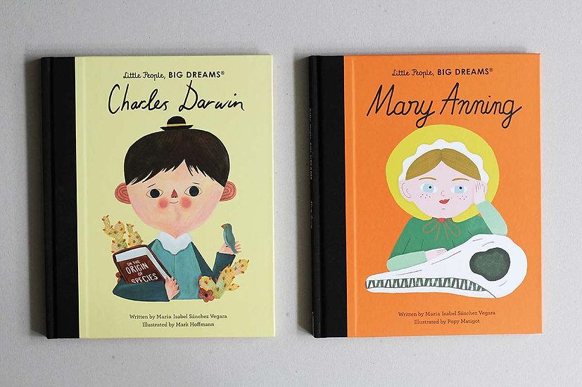 Charles Darwin / Mary Anning