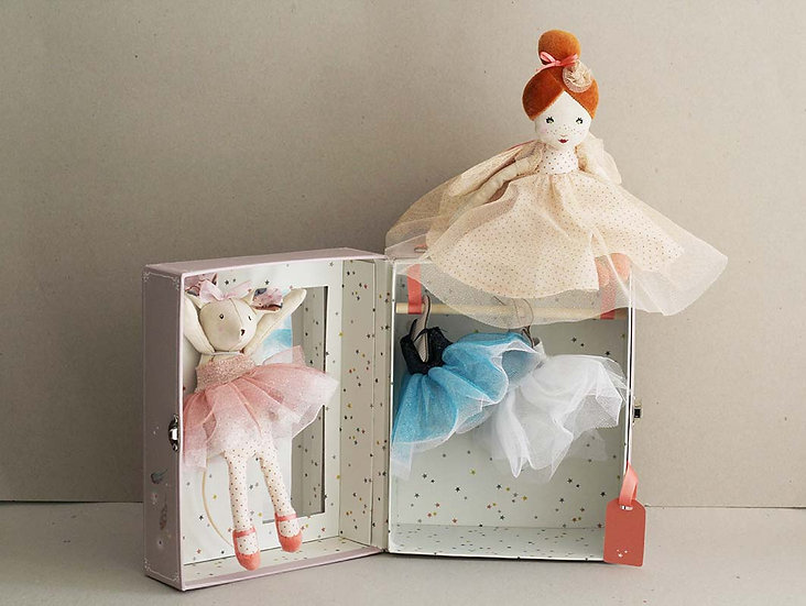 Ballerina Mouse Wardrobe / Fairy Doll
