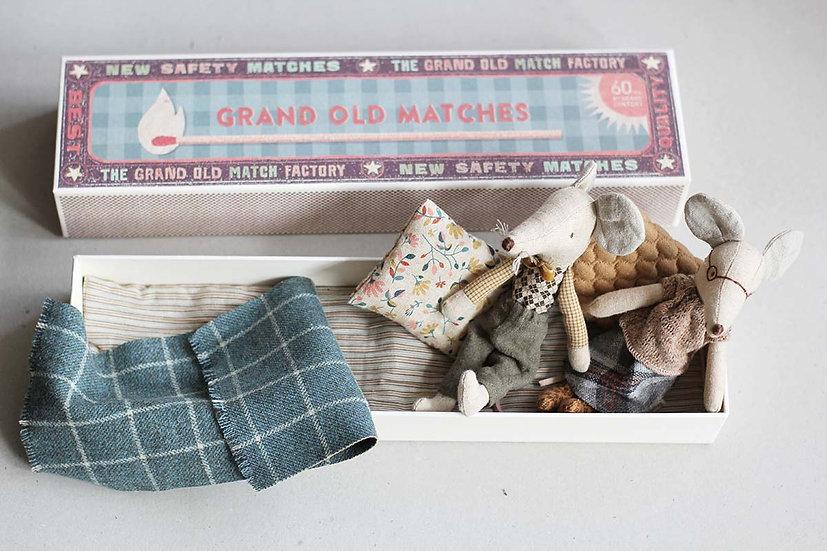 Grand Parent Mice in a Matchbox
