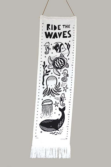 Ride the Waves Canvas Height Chart