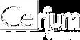 Cerium - TW Cen MT Font Logo WhiteAsset