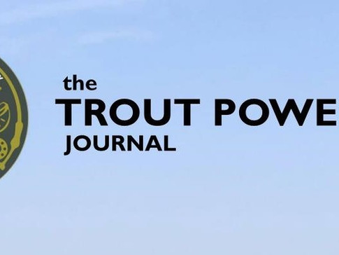 the Trout Power Journal - 2020 Year in Review