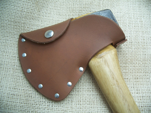 Possum Hollow Tradin Axe Leather