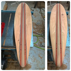 All sanded and ready for clear ! ._._