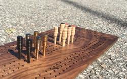 Metal and Wood Pegs