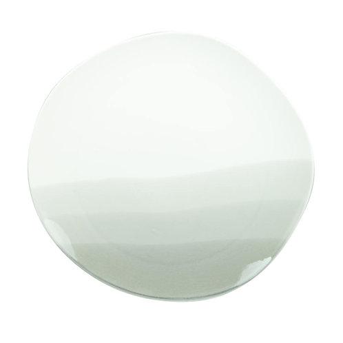 Assiette plate estampe grise 26 cm
