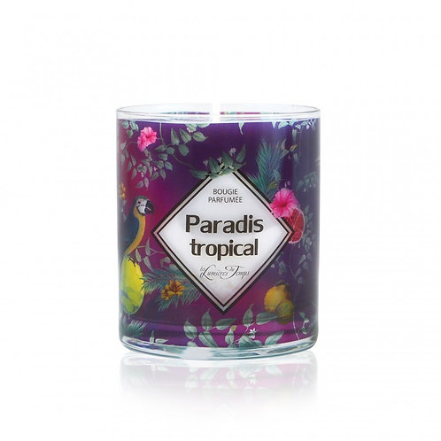 bougie paradis tropical 180gr