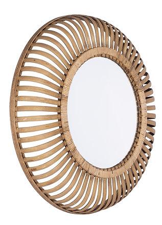 Miroir bambou bombe tresse bora diam 63 ep 9 cm