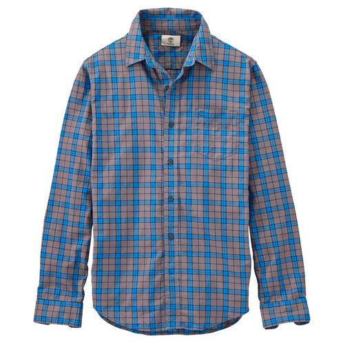 Timberland Men Long Sleeve Plaid Button Down Shirt | Pixmaz l Top ...
