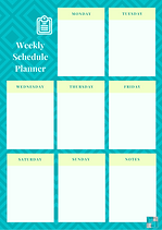 Turquoise Weekly Schedule Planner.png