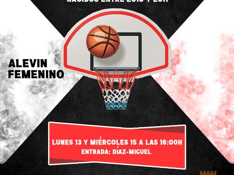 ⚫CONVOCATORIA ALEVIN FEMENINO, ELEVIN MASCULINO Y ESCUELA🔴