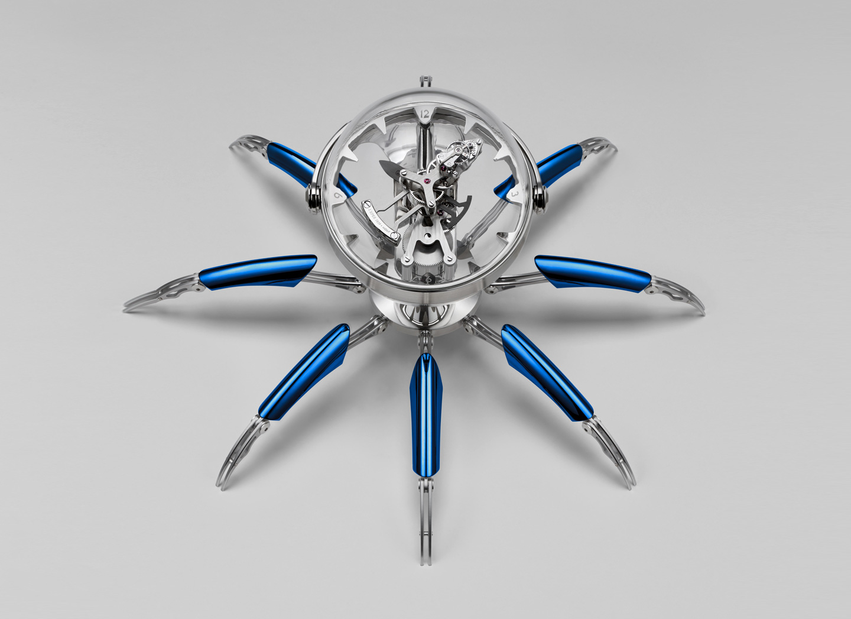 与L'Epée 1839携手推出Octopod八爪鱼造型报时装置。