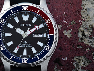 Citizen Asia Limited Promaster NY011新增功能强势回归