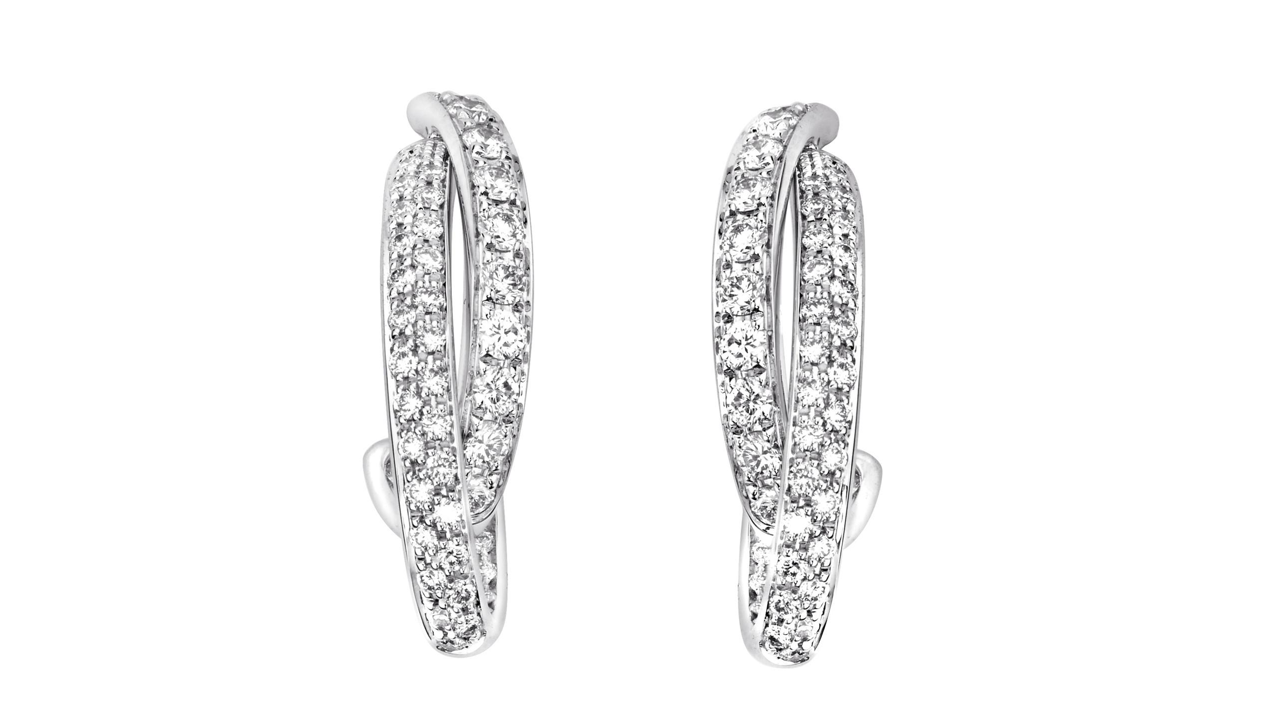 Possession 18K金钻石耳环