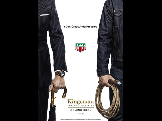 Kingsman x TAG Heuer好戏上演