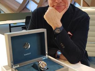 Swatch设计总监Carlo Giordanetti谈Flymagic