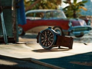 Hamilton Khaki Field Titanium Automatic Far Cry电玩虚拟世界真实存在的腕表
