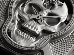 Skull Watch骷髅头造型腕表不诡异反而很酷炫