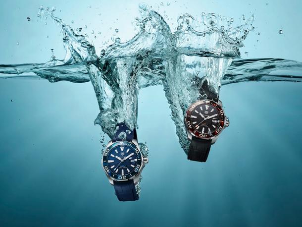 属于你的动感好礼:TAG Heuer Aquaracer潜水表