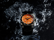 Bell & Ross BR03-92 Diver Orange水底最出色