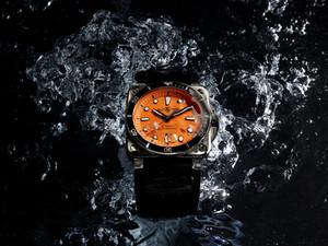 Bell & Ross BR03-92 Diver Orange水底最出色