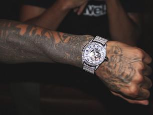 Booba x Corum 霸气推出31克拉钻石腕表