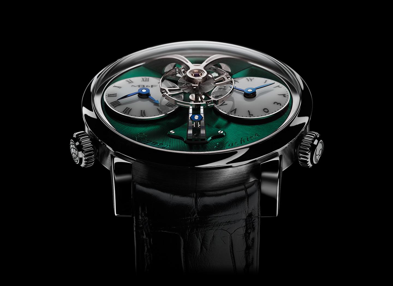 圆形表壳的Legacy Machine系列腕表,通过重新诠释昔日伟大钟表创新者的复杂功能杰作所创造出的当代艺术品,向19世纪出类拔萃的制表技艺致上敬意。
