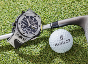 Hublot与高尔夫球王创制专业高尔夫运动腕表