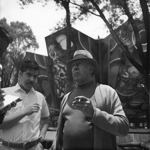 Entrevista a Márquez y Siqueiros 2, 1970