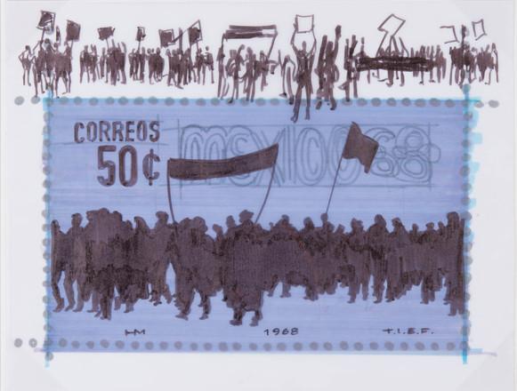 Boceto para Manifestación, 1968