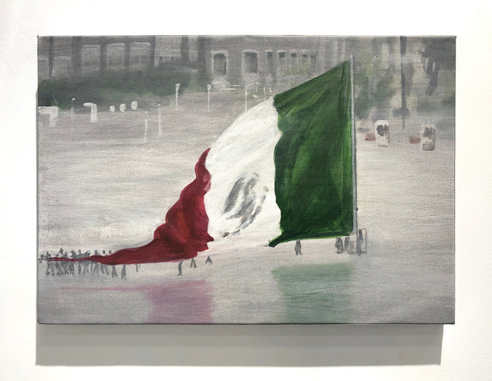 The Mexican flag should never touch the floor (I)